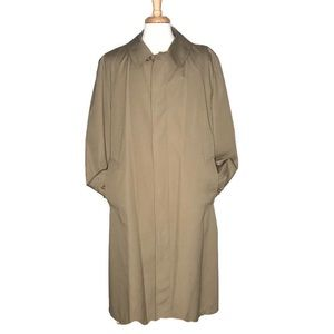 Towne by London Fog Tan Trench Coat Size 44L